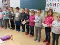 Předškoláci na návštěvě v 1. třídě 10.4.2018